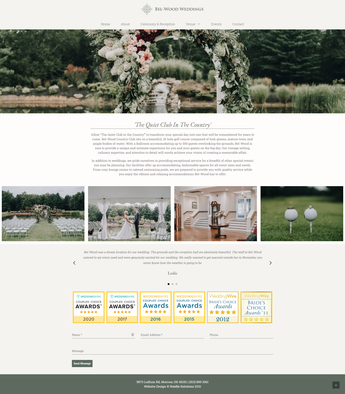 Belwood Weddings Homepage
