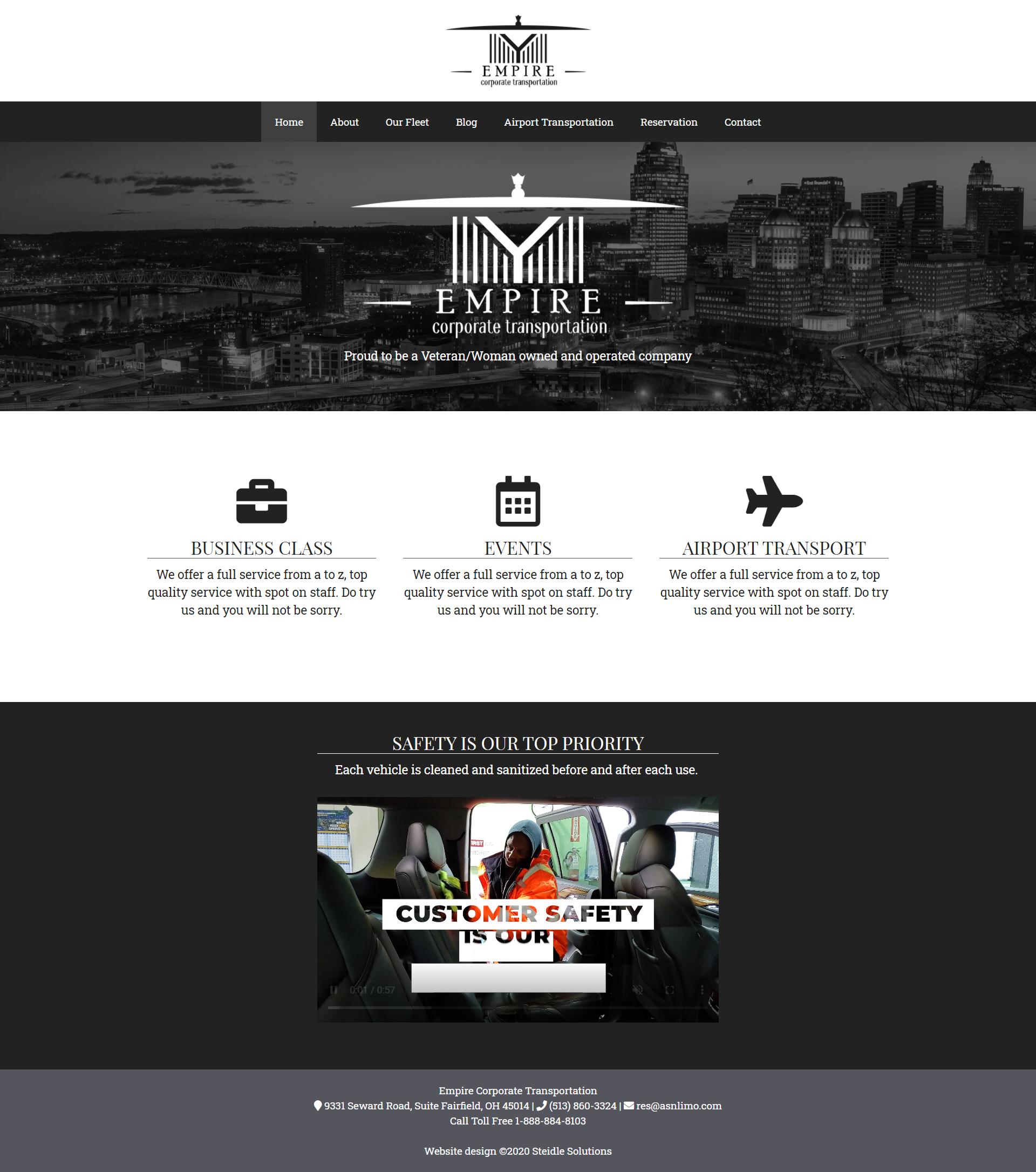 Empire Transportation Homepage